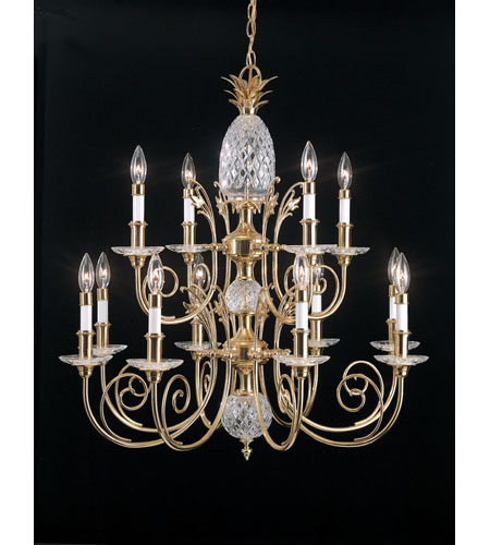 Quoizel pineapple chandeliers qg502b aloadofball Gallery