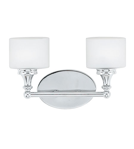 Quoizel Quinton 2 Light Bath Light in Polished Chrome QI8602C photo