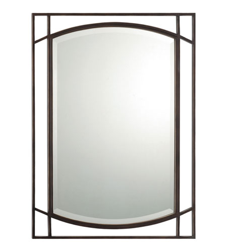 Quoizel Lighting Signature Mirror in Palladian Bronze QR1174PN photo