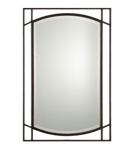 Quoizel QR1175PN Signature 32 X 24 inch Palladian Bronze Wall Mirror Home Decor photo