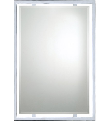 Quoizel Lighting Signature Mirror in Polished Chrome QR1221C photo