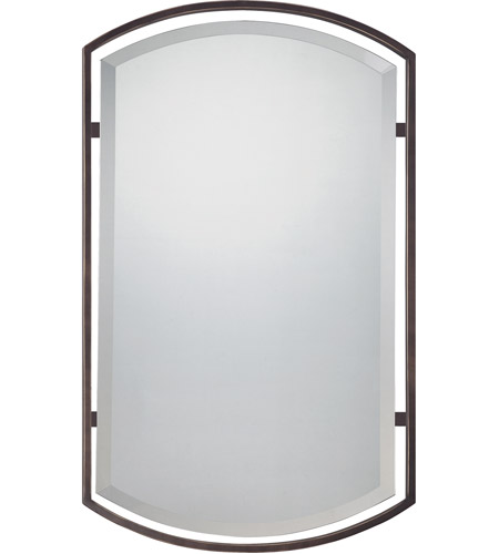 Quoizel Lighting Signature Mirror in Palladian Bronze QR1419PN photo
