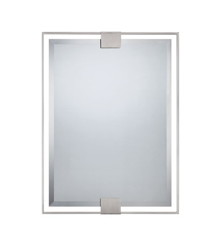 Quoizel Lighting Signature Mirror in Brushed Nickel QR1421BN photo
