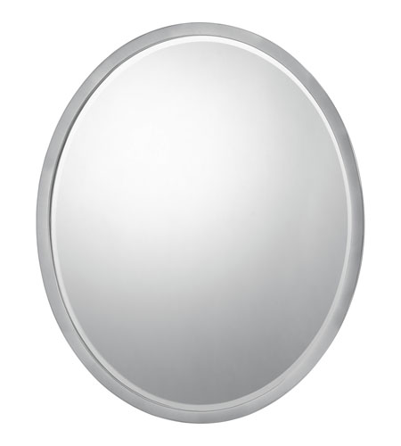 Quoizel Lighting Signature Mirror in Brushed Nickel QR43224BN photo