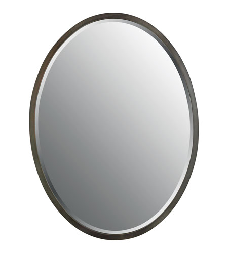 Quoizel Lighting Signature Mirror in Harbor Bronze QR43224HO photo