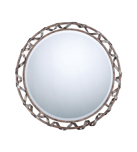 Quoizel QR971 Signature Brushed Nickel Wall Mirror photo