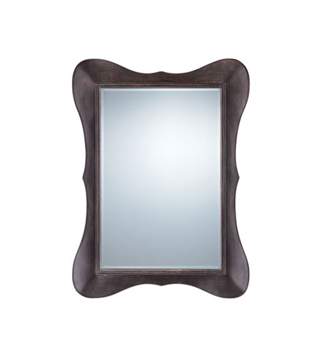 Quoizel Lighting Signature Mirror in Brushed Dark Brown QR9752 photo