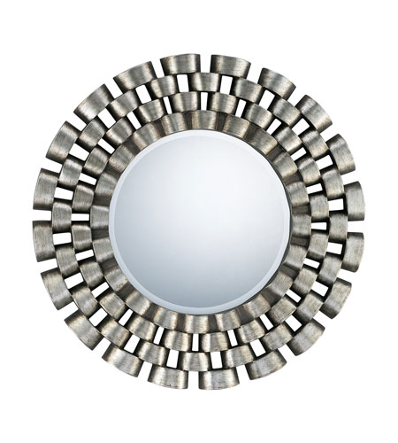 Quoizel Lighting Signature Mirror in Antique Silver QR981 photo
