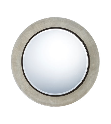 Quoizel Lighting Signature Mirror in Antique Silver QR982 photo