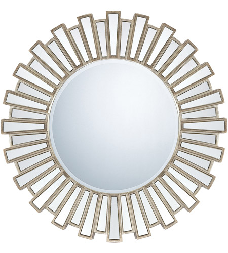 Quoizel Lighting Signature Mirror in Antique Silver QR983 photo