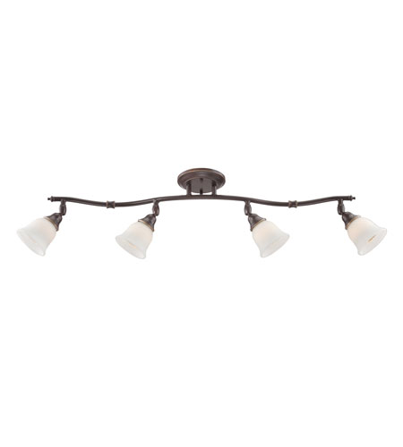 Quoizel Signature 4 Light Track In Palladian Bronze Qtr1411pn