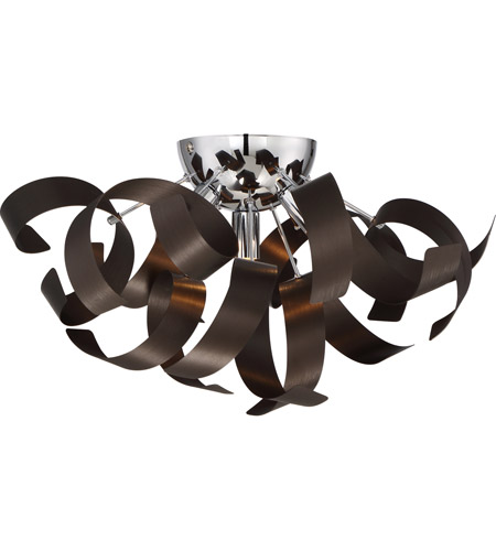 Quoizel RBN1616WT Ribbons 4 Light 17 Inch Western Bronze