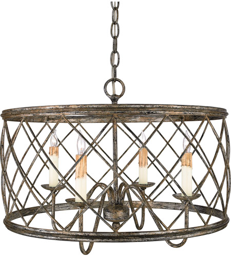 Quoizel rdy2821cs dury 4 light 21 inch century silver leaf pendant quoizel rdy2821cs dury 4 light 21 inch century silver leaf pendant ceiling light mozeypictures Image collections