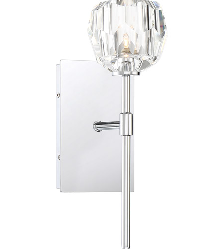 Quoizel Steel-Crystal Regalia Bathroom Vanity Lights