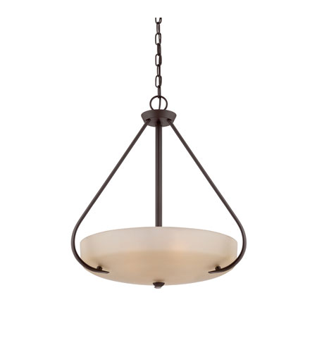 Quoizel Lighting Radcliff 4 Light Pendant in Western Bronze RL2820WT photo
