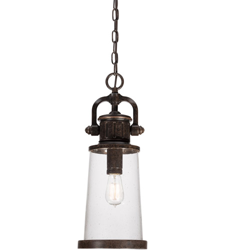 Quoizel Lighting Steadman 1 Light Outdoor Hanging Lantern in Imperial Bronze SDN1908IB photo