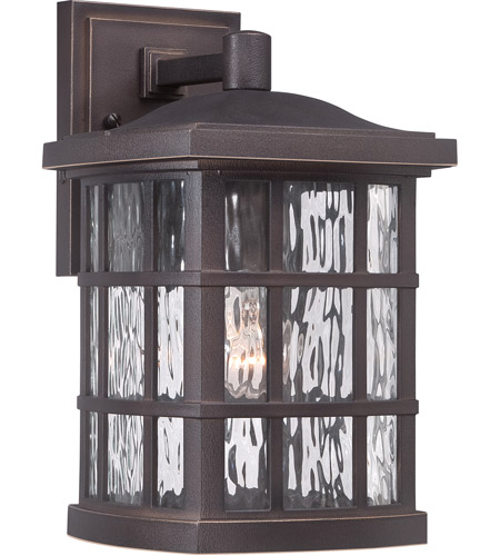 Quoizel SNN8408PN Stonington 1 Light 13 inch Palladian Bronze Outdoor Wall Lantern in A19 Medium Base photo