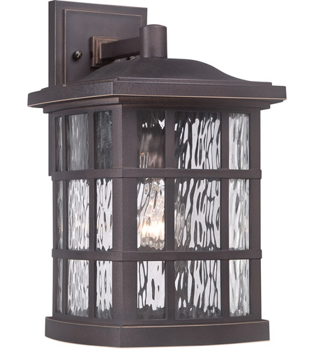 Quoizel SNN8409PN Stonington 1 Light 16 inch Palladian Bronze Outdoor Wall Lantern photo