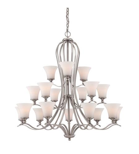 Quoizel Foyer Chandelier : Quoizel sophia light foyer chandelier in brushed nickel