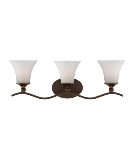 Quoizel Sophia 3 Light Bath Light in Palladian Bronze SPH8703PN photo