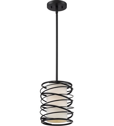 Quoizel spl1508k spiral 1 light 8 inch mystic black mini pendant quoizel spl1508k spiral 1 light 8 inch mystic black mini pendant ceiling light aloadofball Choice Image