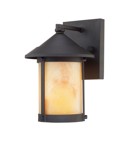 Quoizel Lighting Sutherland 1 Light Outdoor Wall Lantern in Mystic Black SRD8407K photo