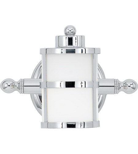 Quoizel TB8601C Tranquil Bay 1 Light 9 inch Polished Chrome Bath Light Wall Light photo
