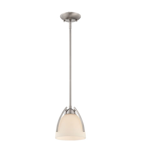 Quoizel Lighting Tucker 1 Light Mini Pendant in Brushed Nickel TCR1508BN photo