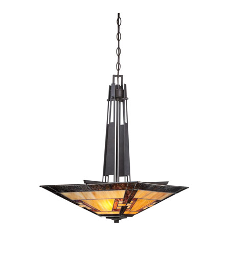 Quoizel Lighting Kennedy 3 Light Pendant in Imperial Bronze TF1177CIB photo