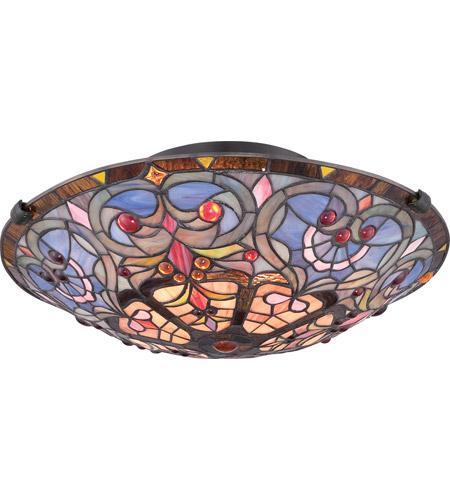 Quoizel tf1805svb tiffany 2 light 17 inch vintage bronze flush mount quoizel tf1805svb tiffany 2 light 17 inch vintage bronze flush mount ceiling light naturals aloadofball Images