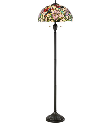 hummingbird 62 inch 100 watt vintage bronze floor lamp portable light. Black Bedroom Furniture Sets. Home Design Ideas
