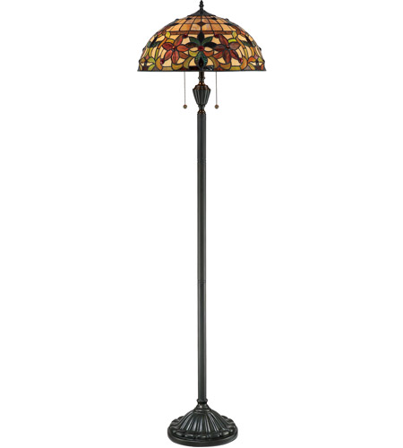 Quoizel TF878F Kami 62 inch 100 watt Vintage Bronze Floor Lamp Portable Light photo