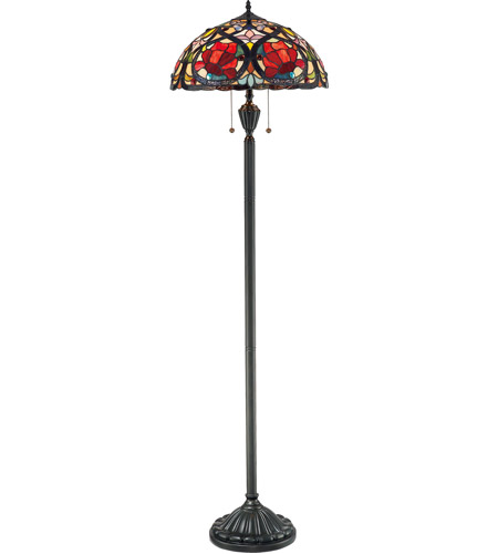 Quoizel Larissa 2 Light Floor Lamp TF879F photo