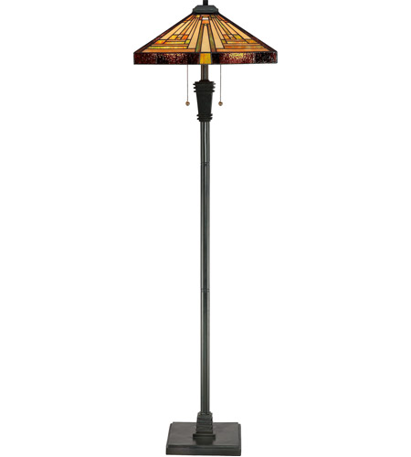 Quoizel TF885F Stephen 60 inch 100 watt Vintage Bronze Floor Lamp Portable Light photo