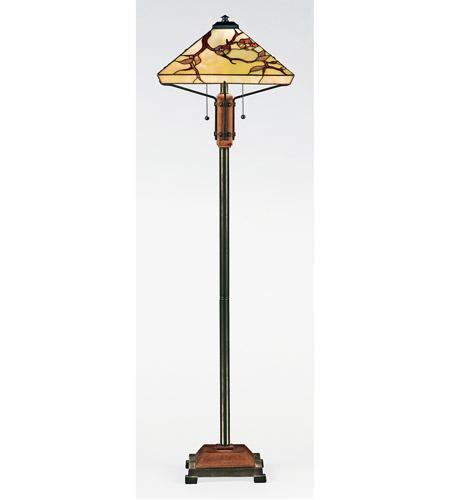 Quoizel tf9404m tiffany 60 inch 100 watt multi floor lamp for 100 floors floor 60