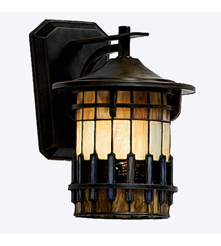 Quoizel Lighting Autumn Ridge 1 Light Outdoor Wall Lantern in Bergamo TFAR8409BE photo