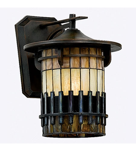 Quoizel Lighting Autumn Ridge 1 Light Outdoor Wall Lantern in Bergamo TFAR8412BE photo