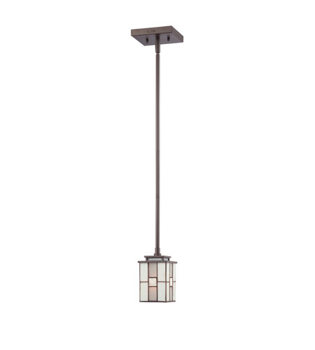 Quoizel Lighting Finley 1 Light Mini Pendant in Western Bronze TFFN1504WT photo