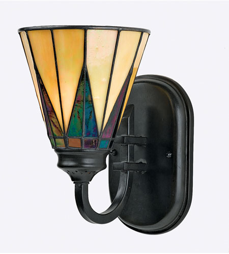 Quoizel Lighting Gotham 1 Light Wall Sconce In Vintage