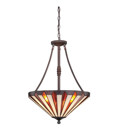Quoizel Lighting Marquis 3 Light Pendant in Russet TFMS2825RS photo
