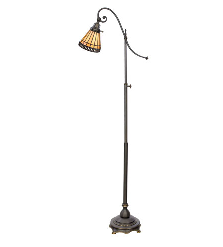 Quoizel Lighting Sonnet 1 Light Floor Task Lamp in Medici Bronze TFSO147FZ photo
