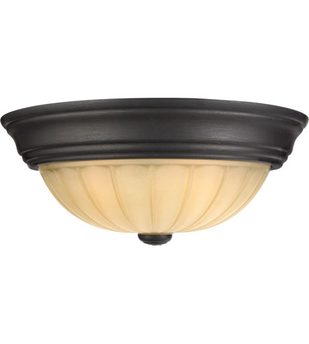 Quoizel Tradewinds 1 Light Flush Mount in Espresso TL182EP photo
