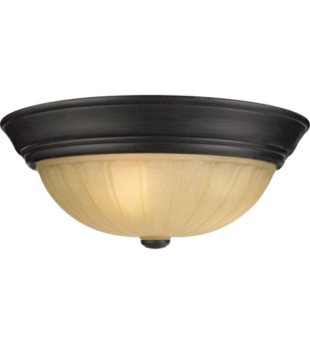 Quoizel Tradewinds 3 Light Flush Mount in Espresso TL184EP photo