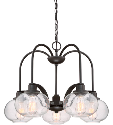 Quoizel TRG5105OZ Trilogy 5 Light 26 inch Old Bronze Dinette Chandelier Ceiling Light photo