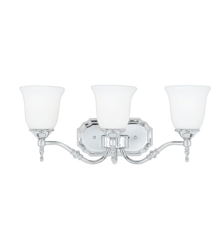 Quoizel Tritan 3 Light Bath Light in Polished Chrome TT8603C photo