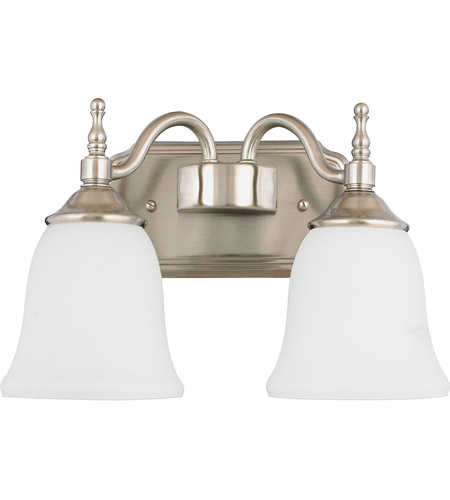 Quoizel Tritan 2 Light Bath Light in Brushed Nickel TT8742BN photo