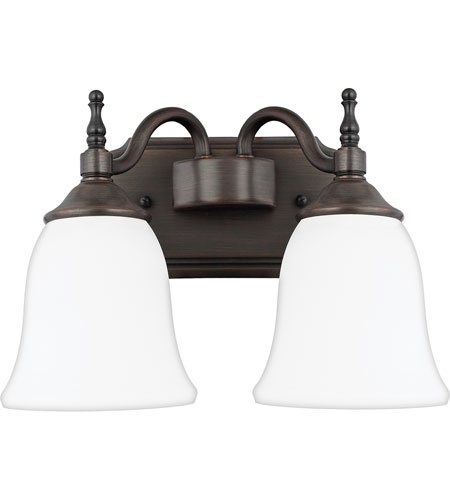Quoizel Lighting Tritan 2 Light Bath Vanity in Copper Bronze TT8742CU photo