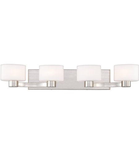 Quoizel Tatum 4 Light Bath Light in Brushed Nickel TU8604BN photo