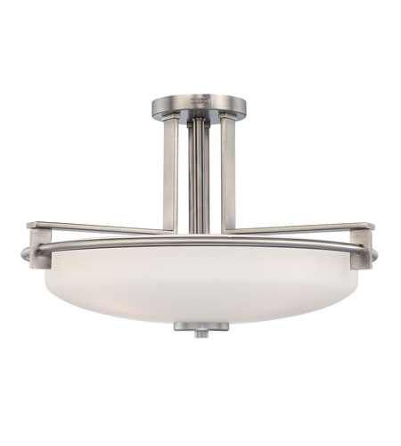 Quoizel TY1721AN Taylor 4 Light 21 inch Antique Nickel Semi-Flush Mount Ceiling Light photo