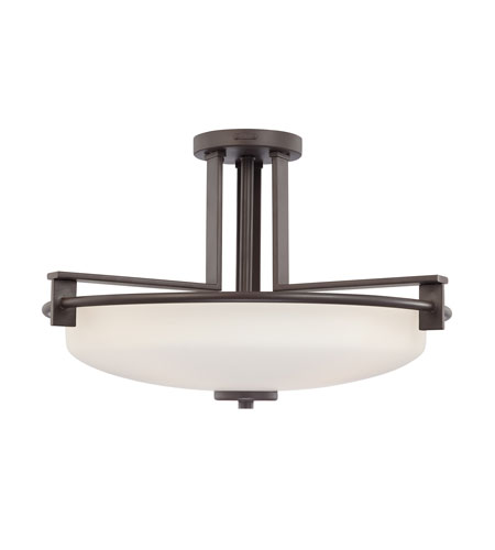 Quoizel Lighting Taylor 4 Light Semi-Flush Mount in Western Bronze TY1721WT photo